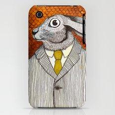 El conejo careta iPhone (3g, 3gs) Slim Case