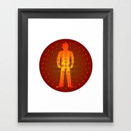 Standing Man Framed Art Print