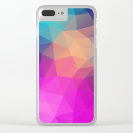 Background | Fond Clear iPhone Case