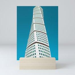 Turning Torso | Santiago Calatrava Architecture | Malmö, Sweden #architecture #calatrava Mini Art Print