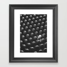 The Man who looked up. Framed Art Print