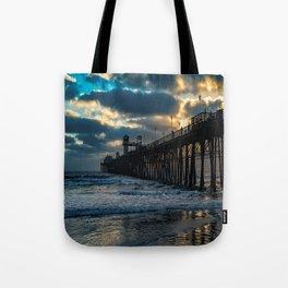 South Side Oceanside Pier ~10-2015 Tote Bag