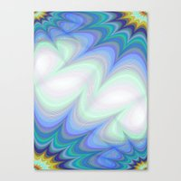 heaven Canvas Prints featuring Heaven by David Zydd