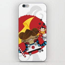 Chestnut + Kiiroihankachi cause we will not forget!!! iPhone Skin