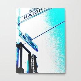 Haight Street Metal Print