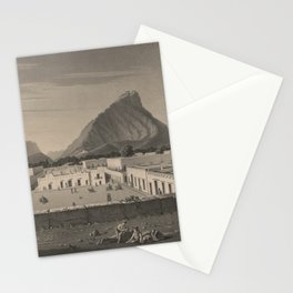 Vintage Monterrey Mexico Pictorial Illustration (1846) Stationery Cards