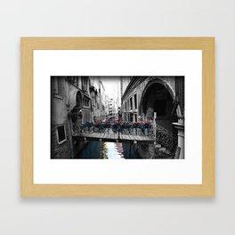 Venice - Venezia  Framed Art Print