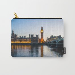 Big Ben During Sunset | London England Europe Cityscape Night Photography Carry-All Pouch