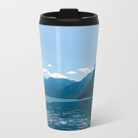 Koenigssee Lake with Alpes Metal Travel Mug
