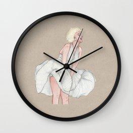 Marilyn Seven Year Itch Wall Clock