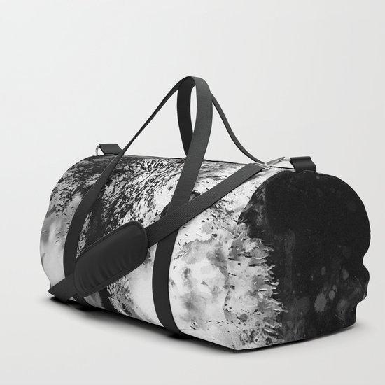 wolf splatter watercolor black white by gxp-design