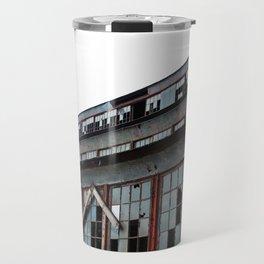 Bethlehem Steel plant windows in color Travel Mug