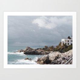 PHOTOGRAPHY - Windy day Art Print