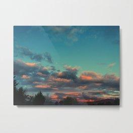 Smouldering Skies Metal Print