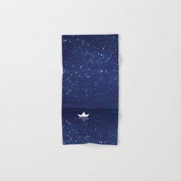 Zen sailing, ocean, stars Hand & Bath Towel