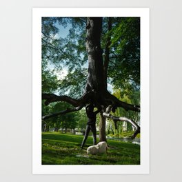 The Devil's Tree Art Print