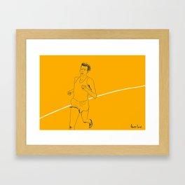 Bannister run Framed Art Print