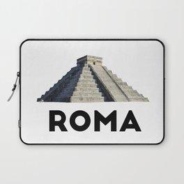 Mayan Pyramid of Rome Laptop Sleeve
