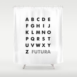 Futura Shower Curtain