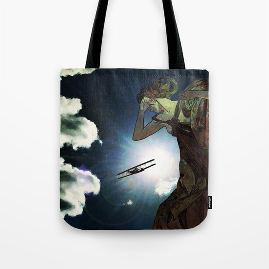 Blinded by the Lights Tote Bag