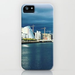 Famine Ship Dublin iPhone Case