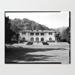 Villa Montalvo, Saratoga, California Canvas Print