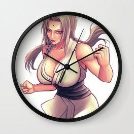 Tsunade Hime Wall Clock