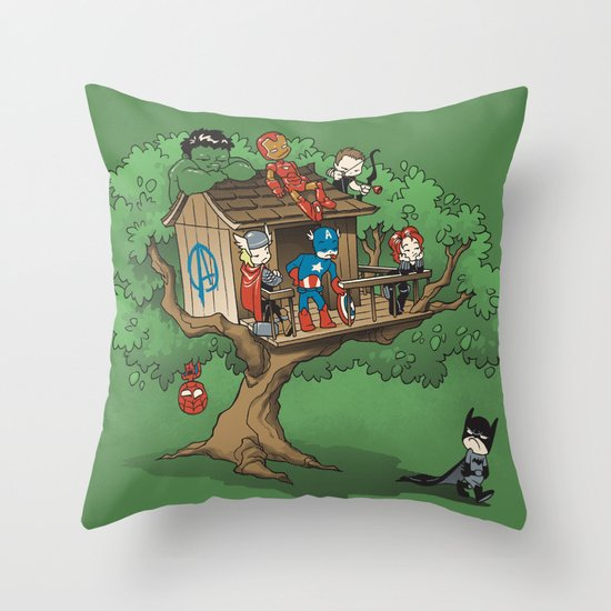 Super Exclusive Club Throw Pillow