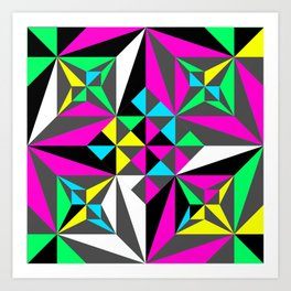 MultiPattern Art Print