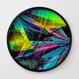 solvent spillage ! Wall Clock