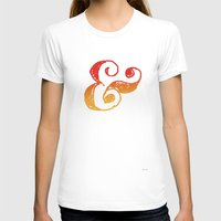 ampersand T-shirts featuring Ampersand by TheCore
