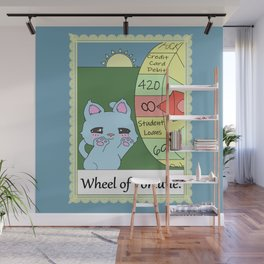 Wheel of Fortune Wall Mural