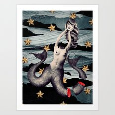 No Mythologies: Siren Art Print