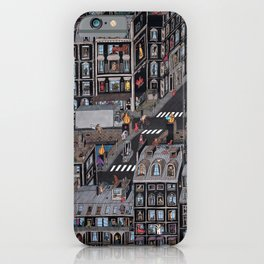 Parisian Neighbourhood iPhone Case