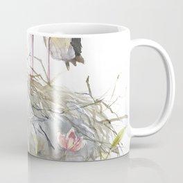 Stork Nest on a Clematis Bush Spring Mood Coffee Mug