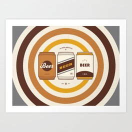 The Beer Brewing Company Art Print