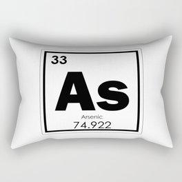 Arsenic chemical element Rectangular Pillow
