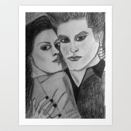 Bella and Edward Art Print