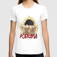 karma T-shirts featuring Karma by Seez