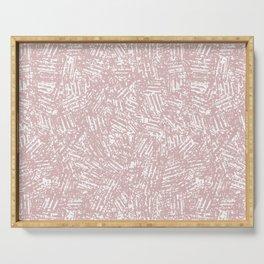 crisscross-pink Serving Tray