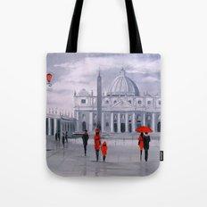 Walking in Rome Tote Bag