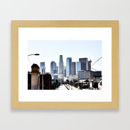 Love Angeles Framed Art Print