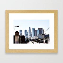 Love Angeles Framed Art Print