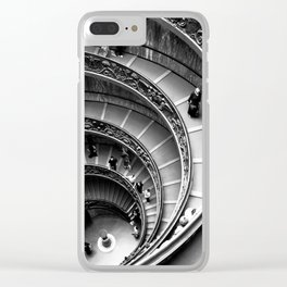 Vatican Stairway Clear iPhone Case