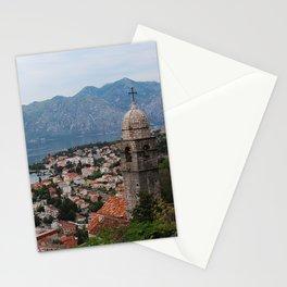 Kotor Bay - Travel photo Stationery Cards