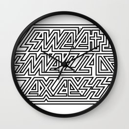 SWEET SMELL OF EXCESS Wall Clock