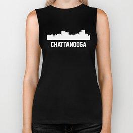 Chattanooga Tennessee Skyline Cityscape Biker Tank