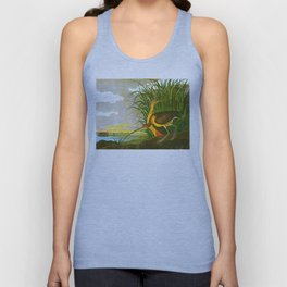 Long-billed Curlew Bird Unisex Tank Top