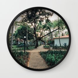 Pathway to Paradise Wall Clock