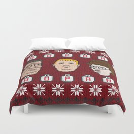 King of the Sweater Duvet Cover